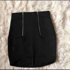 NWT rue21 high waist waist high lo skirt size S